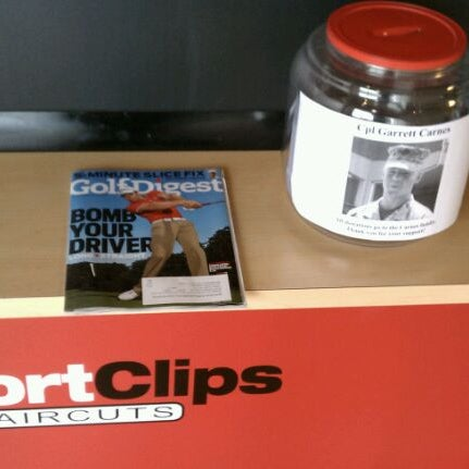 Photo taken at Sport Clips by Emily E. on 3/5/2012