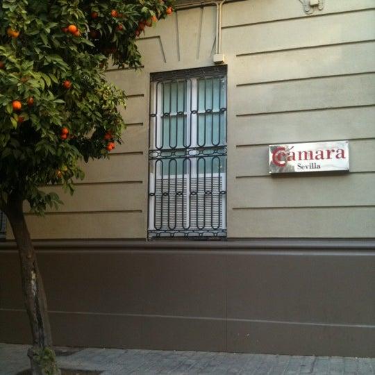 Photo taken at Cámara de Comercio de Sevilla by @plarrabasterra on 1/13/2012
