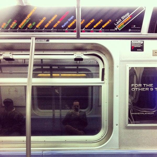 Photo taken at MTA Subway - Carroll St (F/G) by Alejandro C. on 2/27/2012