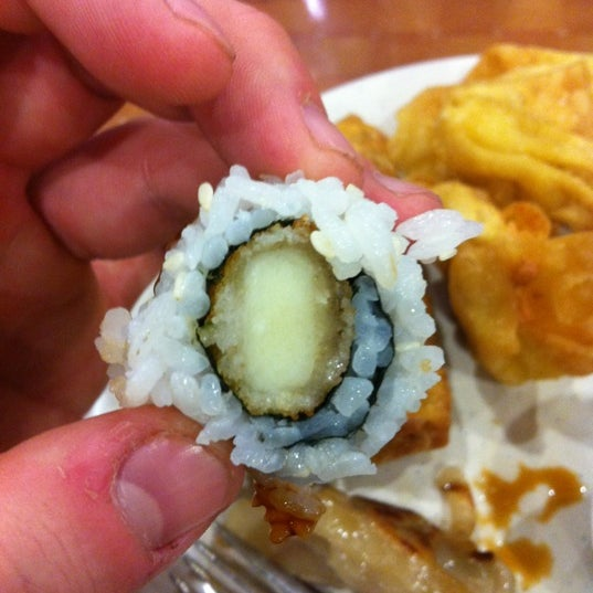 Mozzarella Stick Sushi...'Mercia!