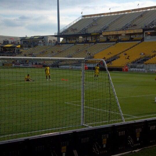 Photo taken at MAPFRE Stadium by Sabrina F. on 7/21/2012