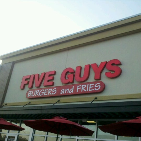 Photo taken at Five Guys by Kristin D. on 7/6/2012