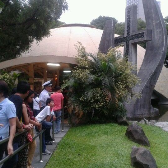 Photo taken at Sto. Niño de Paz Community Chapel by Julius M. on 7/15/2012