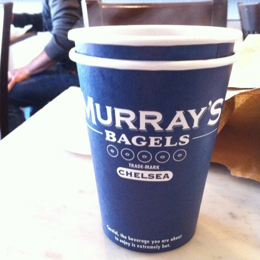 Photo taken at Murray's Bagels by Dayea S. on 3/17/2012