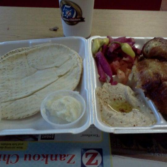 Photo taken at Zankou Chicken by Joseph K. on 5/1/2012