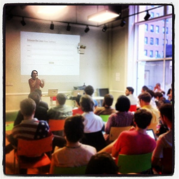 Photo taken at NYU ITP by Mike D. on 5/4/2012