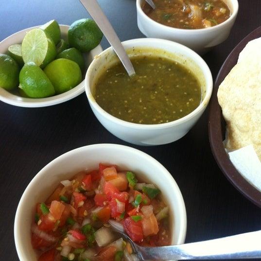 Photo taken at Pozole y Tacos Regios by Graciela L. on 7/25/2012