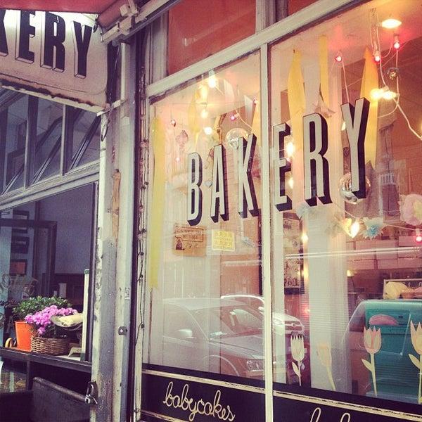Photo taken at Erin McKenna's Bakery by Bastian B. on 5/9/2012