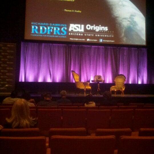 Photo taken at ASU Gammage by Lloyd M. on 2/5/2012
