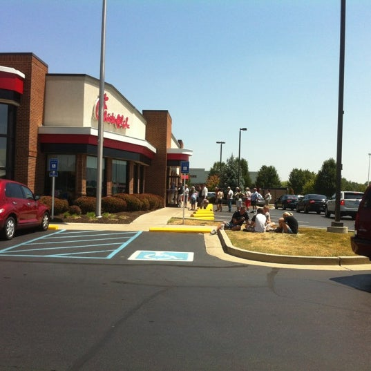Photo taken at Chick-fil-A by Paul A. on 8/1/2012