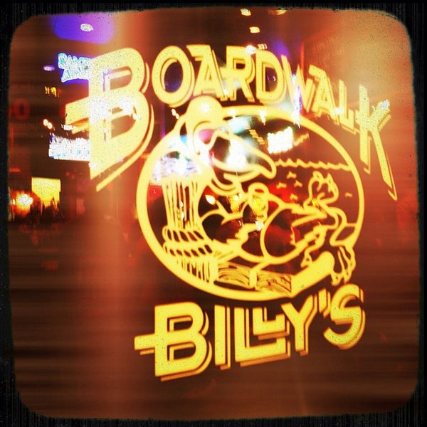 Photo taken at Boardwalk Billy's Raw Bar & Ribs by Brandon S. on 3/4/2012