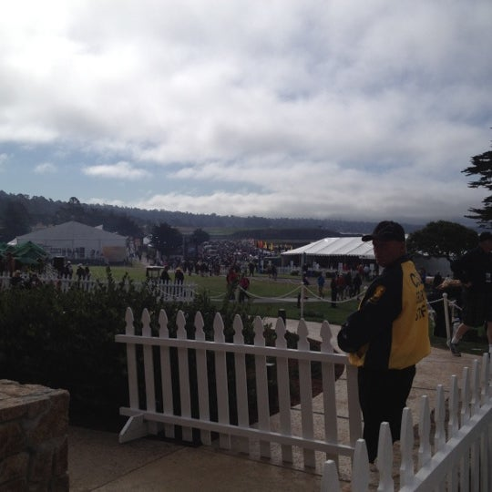 Photo taken at The Lodge at Pebble Beach by Kim K. on 8/19/2012