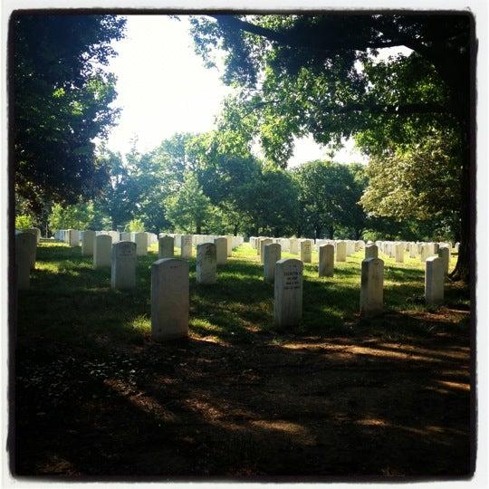 Photo taken at Arlington National Cemetery by Thomas C. on 7/4/2012