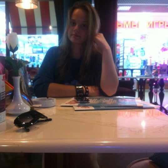 Photo taken at Любо Cafe by Maria S. on 5/29/2012