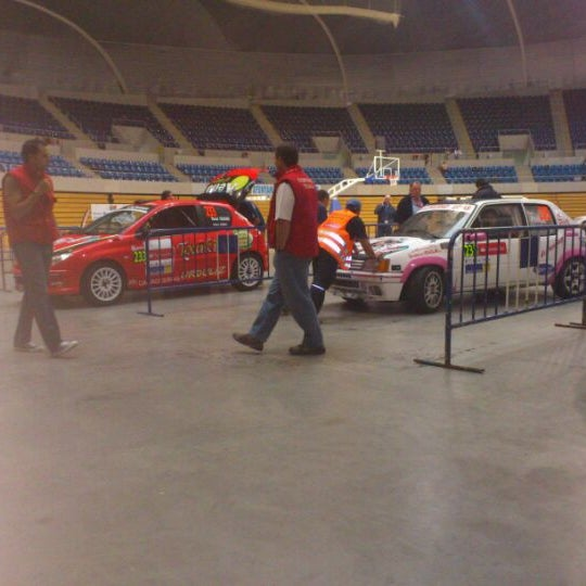Photo taken at Palacio de los Deportes by David V. on 5/18/2012