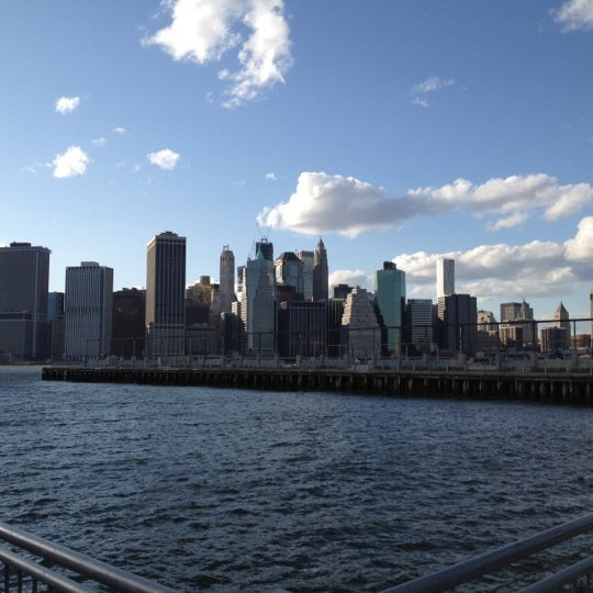 Photo taken at Brooklyn Bridge Park - Pier 6 by Scott R. on 5/10/2012