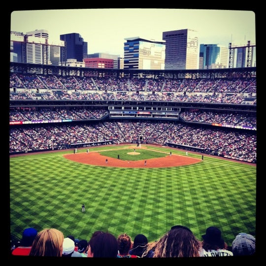 Photo taken at Coors Field by Stacy C. on 5/6/2012