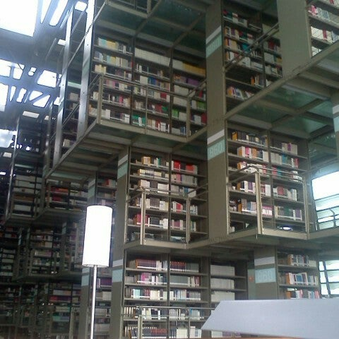 Photo taken at Biblioteca Vasconcelos by Paty on 9/3/2012