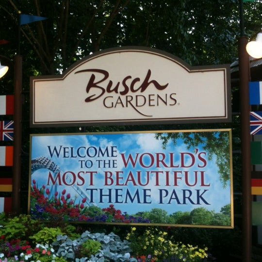 Photo taken at Busch Gardens Williamsburg by Jerry S. on 7/18/2012