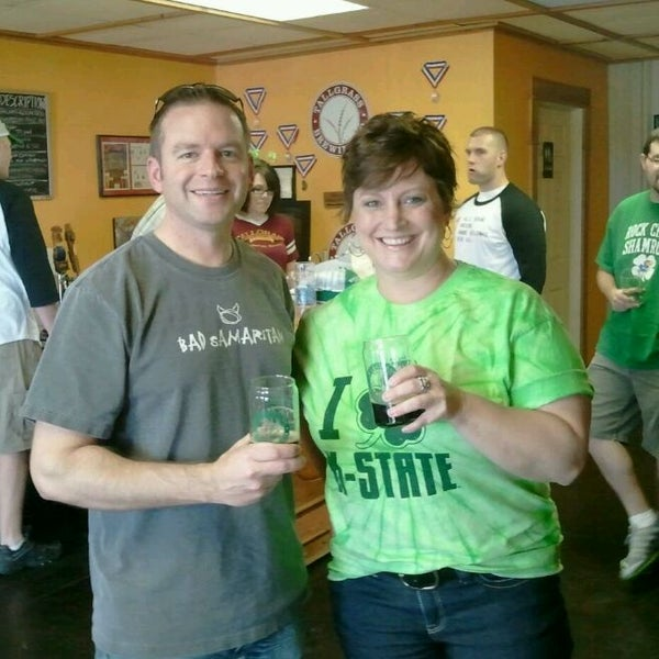 Photo taken at Tallgrass Brewing Co by Vicki G. on 3/17/2012