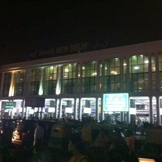 Photo taken at New Delhi Railway Station (NDLS) by Ayush S. on 5/22/2012