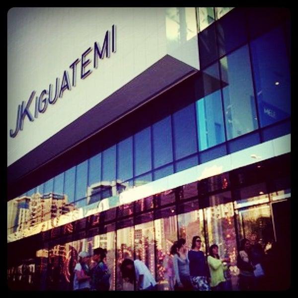 Photo taken at Shopping JK Iguatemi by Dácio B. on 7/9/2012