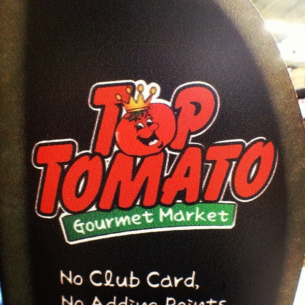 top tomato is a top crap. Nothing is fresh and it's overpriced. The smell inside the store is disgusting and what's with ATTITUDES??? everyone is rude to customers.. like you're shopping for free.