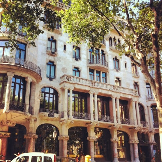 Photo taken at Hotel Casa Fuster by Alberto I. on 6/11/2012