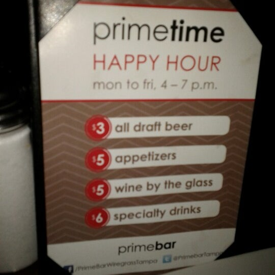 Photo taken at Primebar by Shadd B. on 6/30/2012