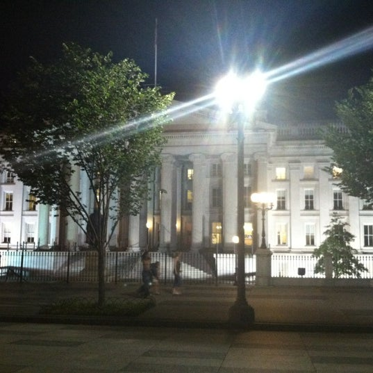 Photo taken at US Department of the Treasury by Waylon C. on 5/20/2012