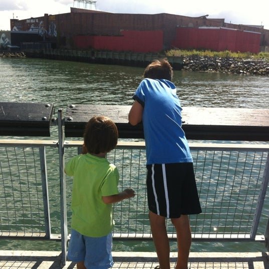 Photo taken at Louis Valentino, Jr. Park & Pier by Luis F. on 9/9/2012