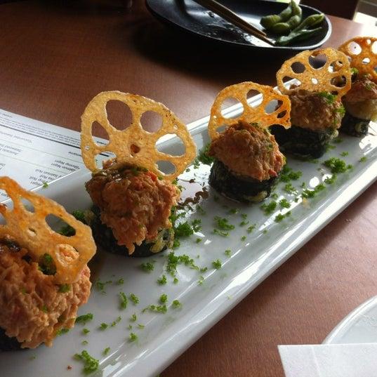 Photo taken at RA Sushi by Sam L. on 7/3/2012