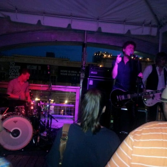 Photo taken at 512 Rooftop by Melissa A. on 3/18/2012