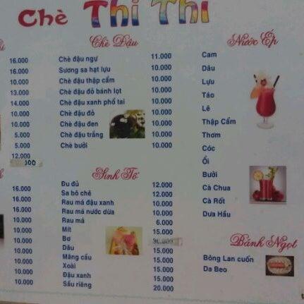 Photo taken at Chè Thi Thi by Brandy M. on 4/9/2012