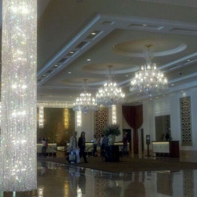 Photo taken at Trump International Hotel Las Vegas by Tania W. on 5/11/2012