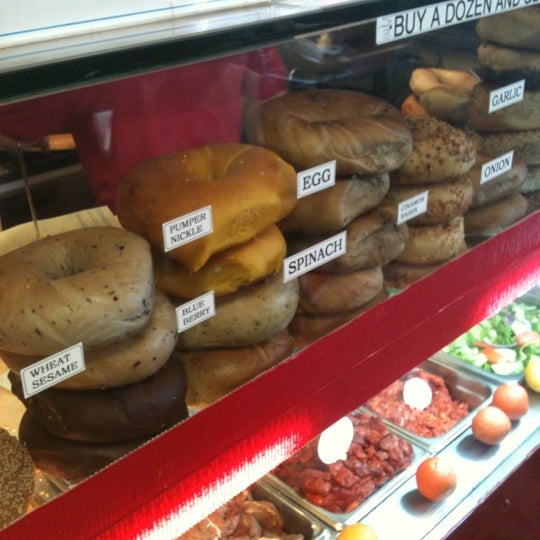 Photo taken at Famous Bagel Buffet by Alvin U. on 6/22/2012