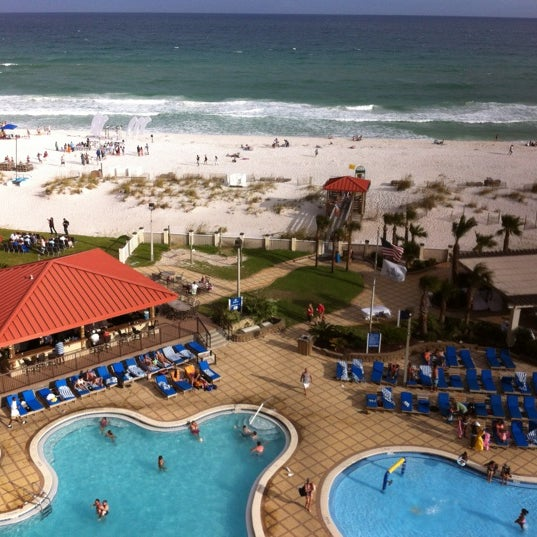 Photo taken at Hilton Pensacola Beach Gulf Front by Heath on 6/23/2012