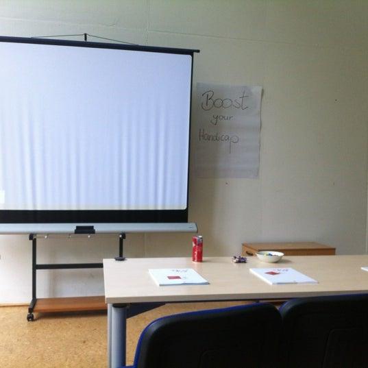 Photo taken at Boostpark Workshop by Julia S. on 5/31/2012