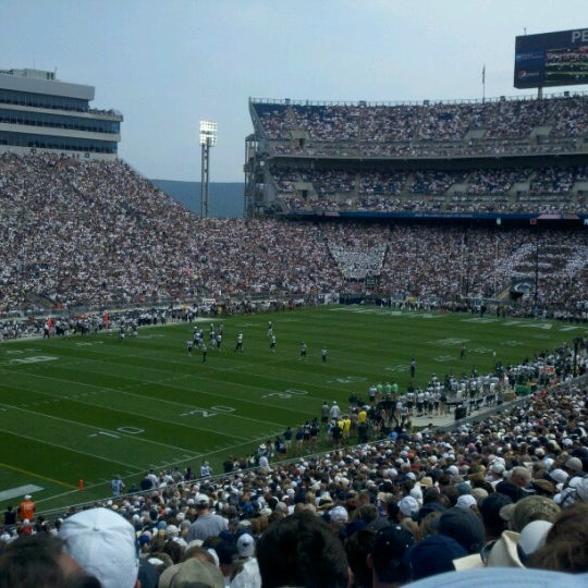 Photo taken at Beaver Stadium by Charlotte L. on 9/1/2012