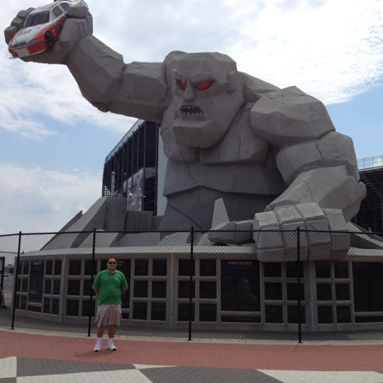 Photo taken at Dover International Speedway by James Q. on 6/25/2012