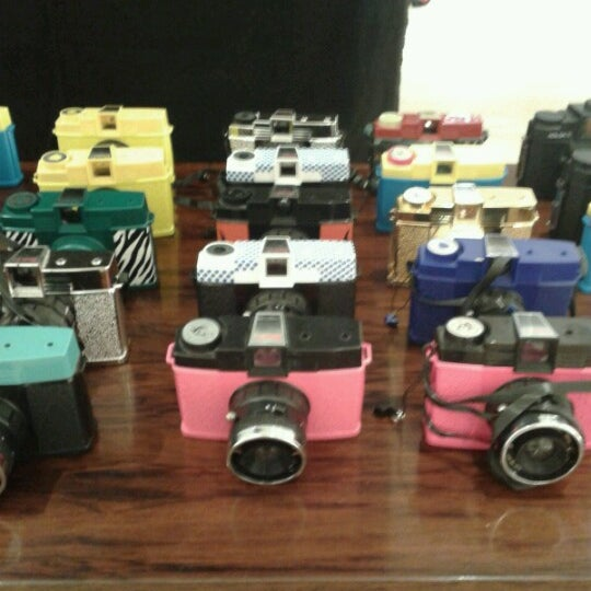 Photo taken at Lomography Gallery Store by Mari G. on 6/16/2012