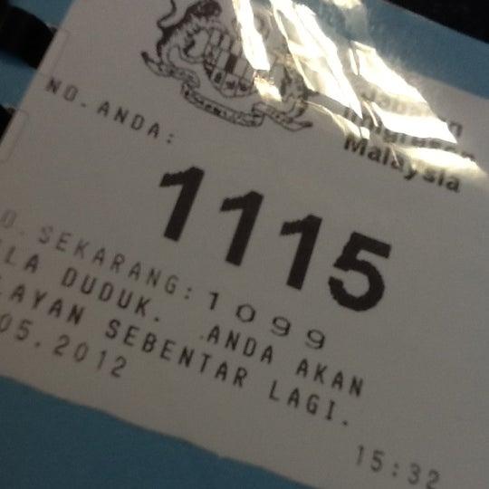Photo taken at Jabatan Imigresen Malaysia by mawar q. on 5/31/2012