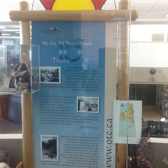 Photo taken at Saskatoon John G. Diefenbaker International Airport (YXE) by Sasha H. on 3/13/2012