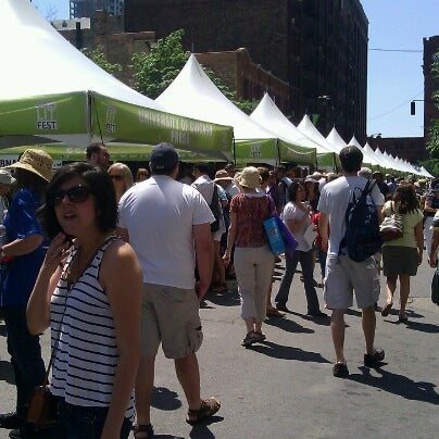 Photo taken at Printers Row Lit Fest by Donna R. on 6/9/2012