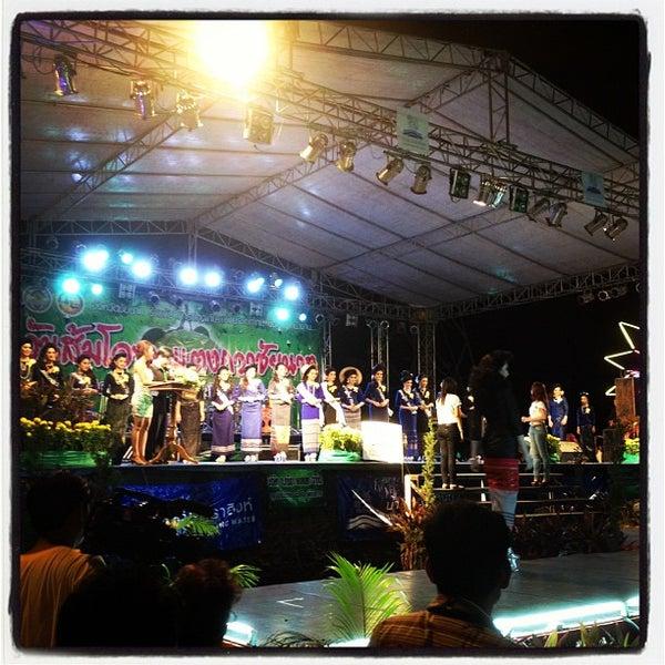 Photo taken at เข่ือนเรียงหิน by nuttawut c. on 9/11/2012