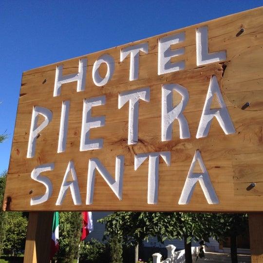 Photo taken at Hotel Pietra Santa by Álvaro M. on 2/11/2012