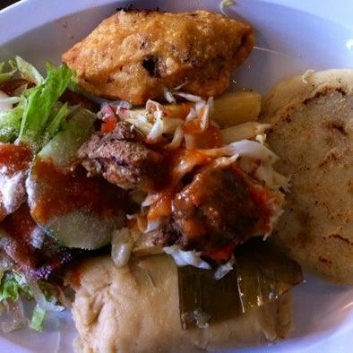 Photo taken at El Salvadoreño by Ariana A. on 6/19/2012
