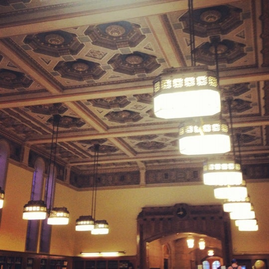 Photo taken at Doheny Memorial Library (DML) by Nicole W. on 9/5/2012