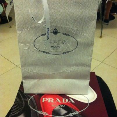 Photo taken at Prada by Poom S. on 7/27/2012