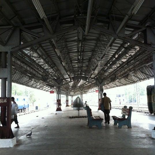Photo taken at New Delhi Railway Station (NDLS) by Trayambak O. on 7/7/2012